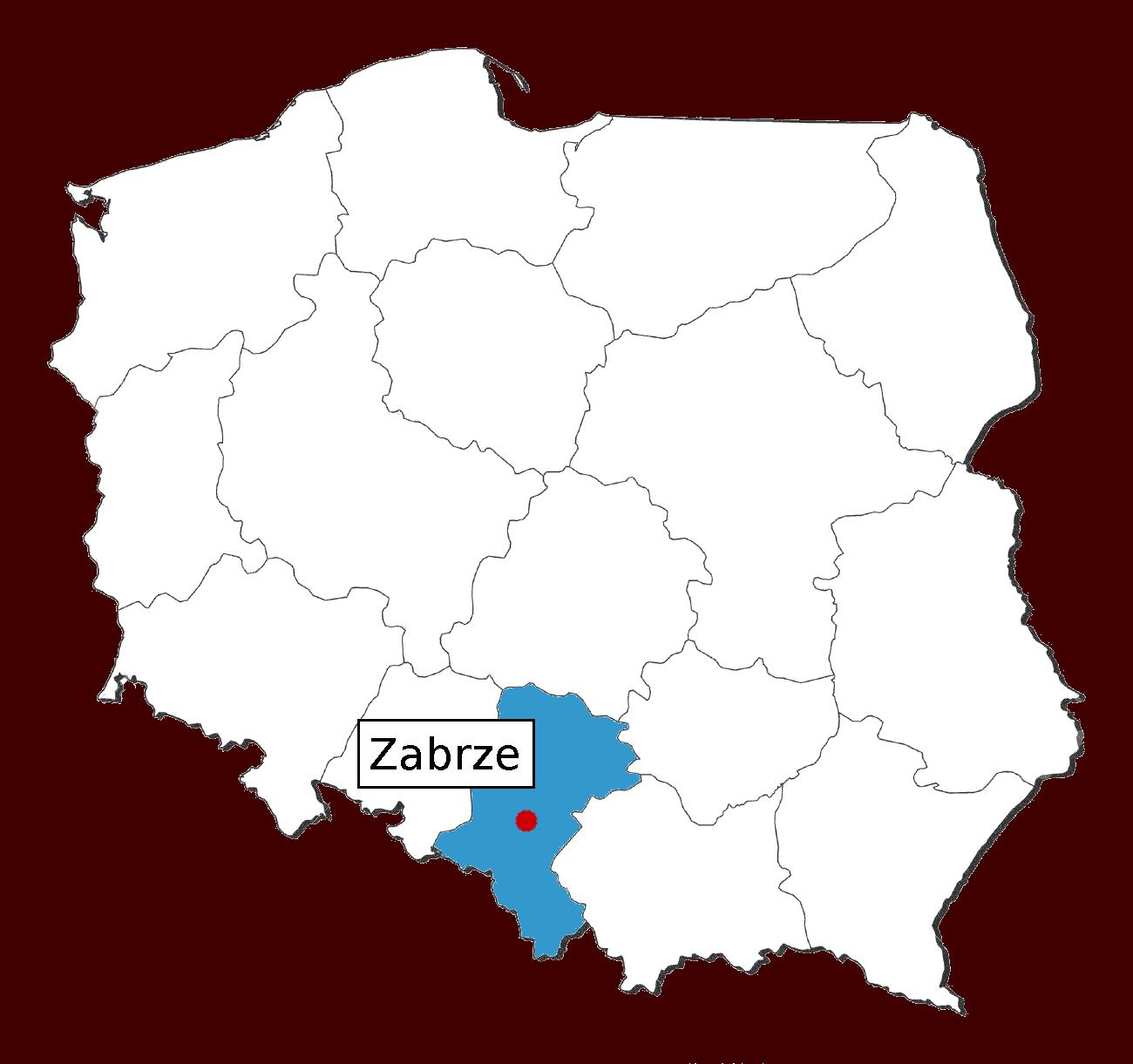 lokalizacja Zabrze